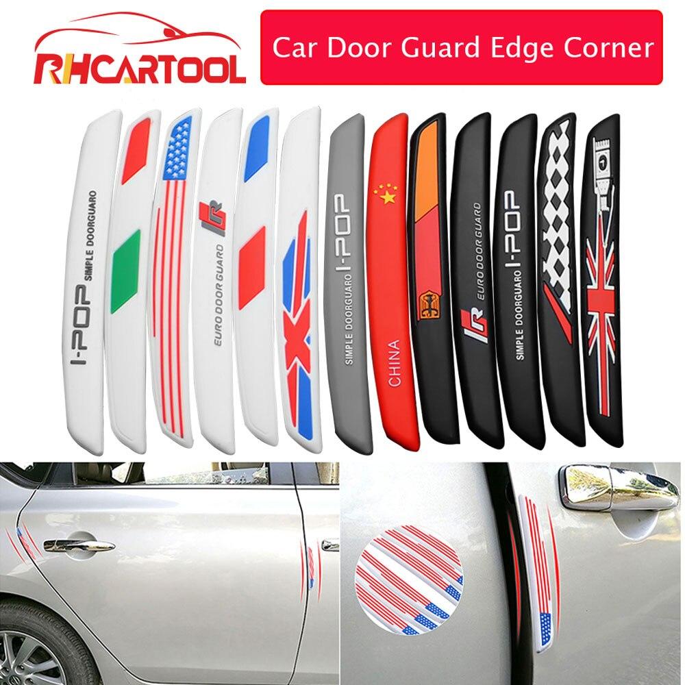 Auto puerta guardia Protector para Borde de esquina guardias de protección de moldura embellecedora de arañazos Protector coche Barra de Tope de puerta