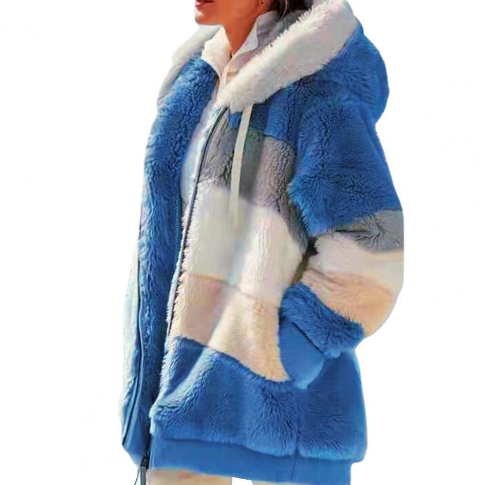 Chaqueta de lana de mujer de lana de las mujeres polar mujer...