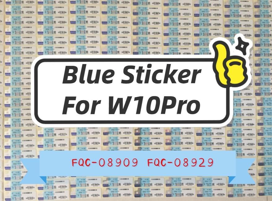 【 W10Pro синяя наклейка 】{Windows 10 Pro Label } / USB Новинка/FQC-08909-08929-08983-08920 Professional win USB новая клавиша Enter