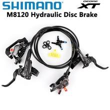 Shimano DEORE XT M8120 M8000 M8020 M8100 hamulec 4 tłok hydrauliczny hamulec tarczowy ICE-TECH klocki BL-M8100/BR-M8120 800 MM/1600 MM