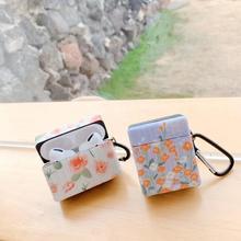 Pour airpods Pro mignon petite fleur florale mode doux pour Apple nouveau Airpods 1/2/3 pro couverture sans fil Bluetooth étui pour écouteurs
