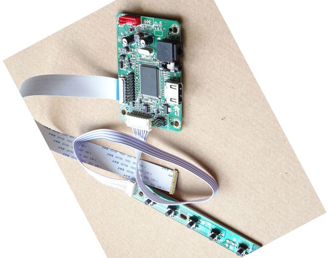 ل N156BGN-E41/E31 N156BGN-EA3/EB3 1366X768 LCD HDMI-متوافق LED لوحة كابل الصوت سائق EDP البسيطة 15.6
