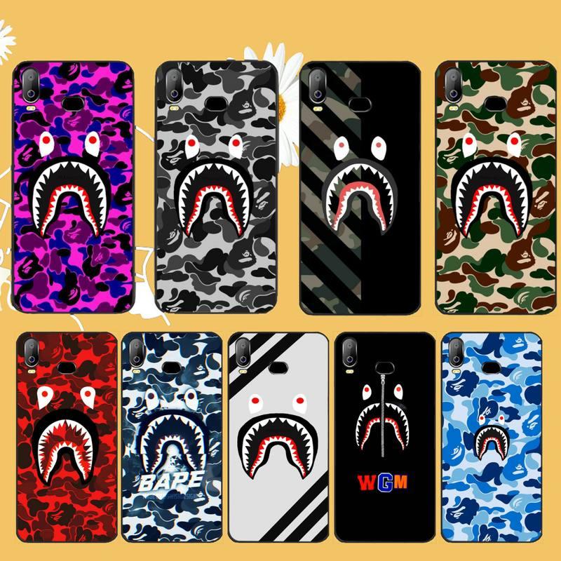 NBDRUICAI Fashion Luxury Brand Sports bape Coque Shell Phone Case For Samsung A10 A20 A30 A40 A50 A70 A71 A51 A6 A8 2018