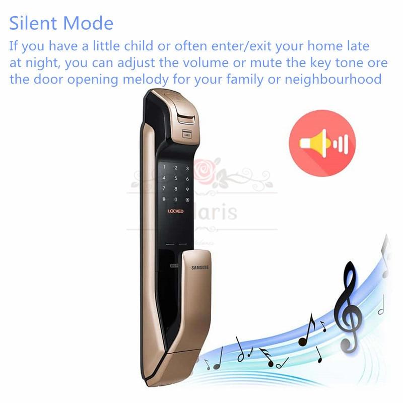 Samsung SHP-DP728 Smart Home Door Lock English Version Fingerprint Locks Cerradura Inteligente Fechadura Digital