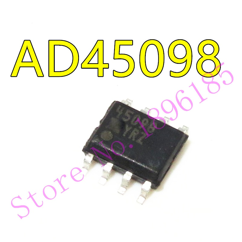 In stock can pay AD45098 45098 45098YRZ SOP-8 Rail-to-Rail Upstream ADSL Line Driver