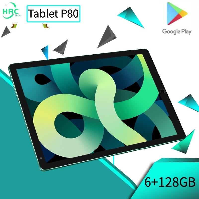 Планшет Android 6 ГБ + 128 Гб Планшеты 8 дюймов планшетный ПК GPS 10 ядер планшет онлайн-класса телефонный звонок планшет планшеты pro Планшеты android
