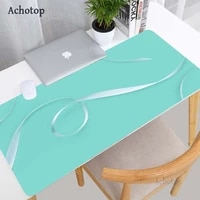 color art mouse pad xxl gamers accessories padmouse 90x40cm rubber mouse pad carpet keyboard anti slip computer pc mat for lol