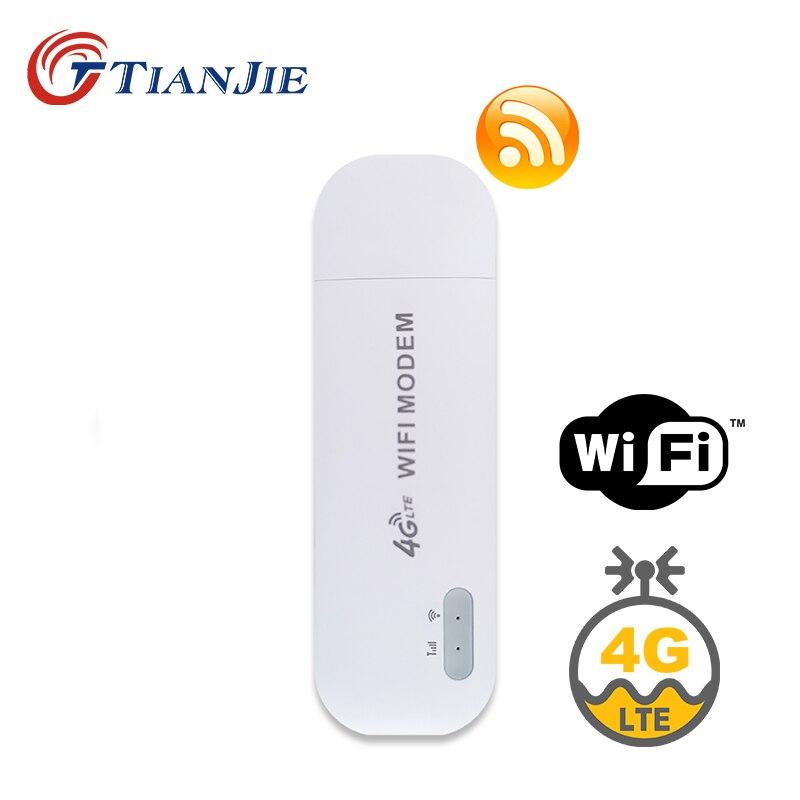TIANJIE разблокировка SIM USB Wifi беспроводной автомобильный роутер Карманный Wifi роутер мобильный Hotspot слот для sim-карты модем/ключ/Wifi plug and play