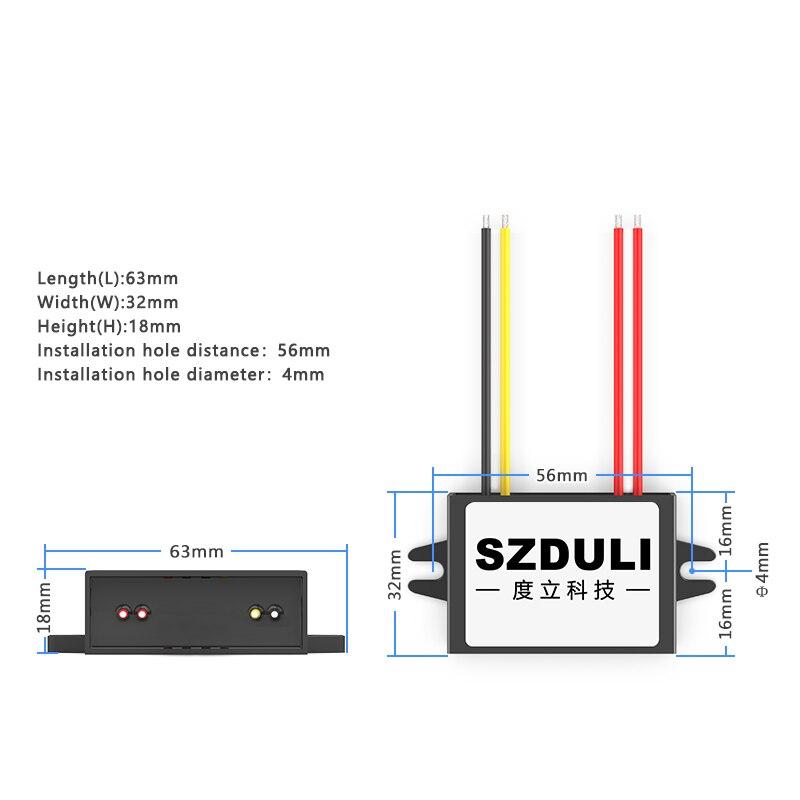 Купить с кэшбэком AC12V to DC12V AC to DC power supply module 10-20V to 12V monitoring transformer waterproof converter CE RoHS