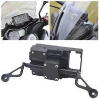 for xmax 300 xmax300 x max 300 motorcycle front phone stand holder smartphone phone gps navigaton plate bracket