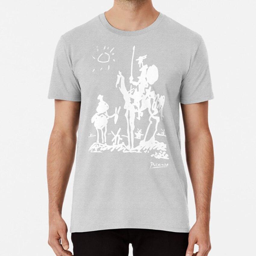Pablo Picasso Don Quixote 1955 Artwork Shirt, Reproduction T shirt for anti war paintings cubism surrealism oil on canvas