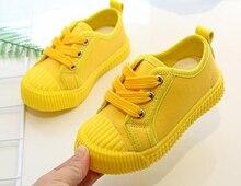 Chaussures de sport en toile pour garçons   Baskets, chaussures de Tennis, pour enfants tout-petit, jaune vif, Zapato, chaussures décontractées, SandQ Baby, nouvelle collection