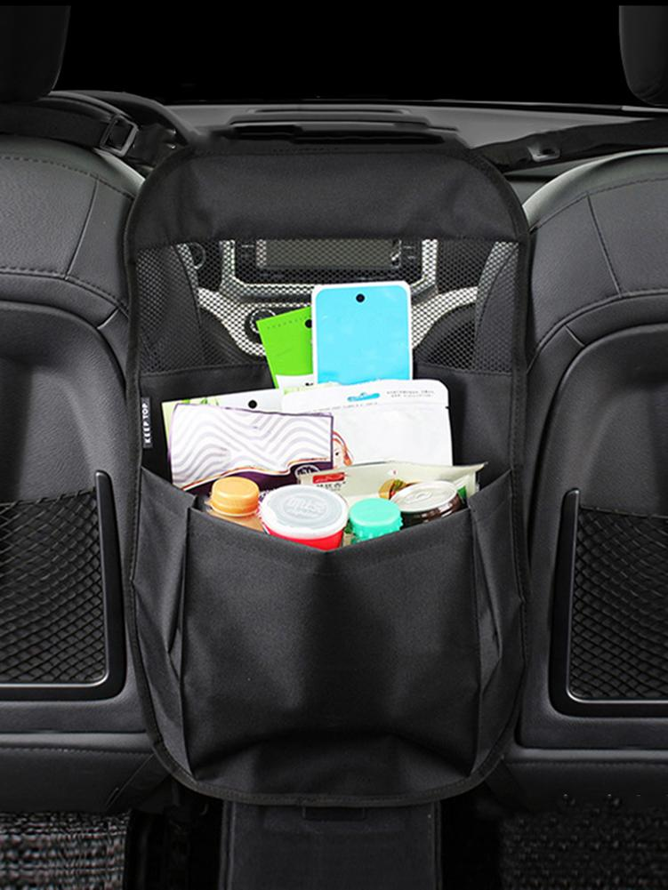 Universal Car Seat Side Storage Mesh Net Bag Luggage Holder Pocket Trunk Cargo Nets Organizer Auto Interior Accessories