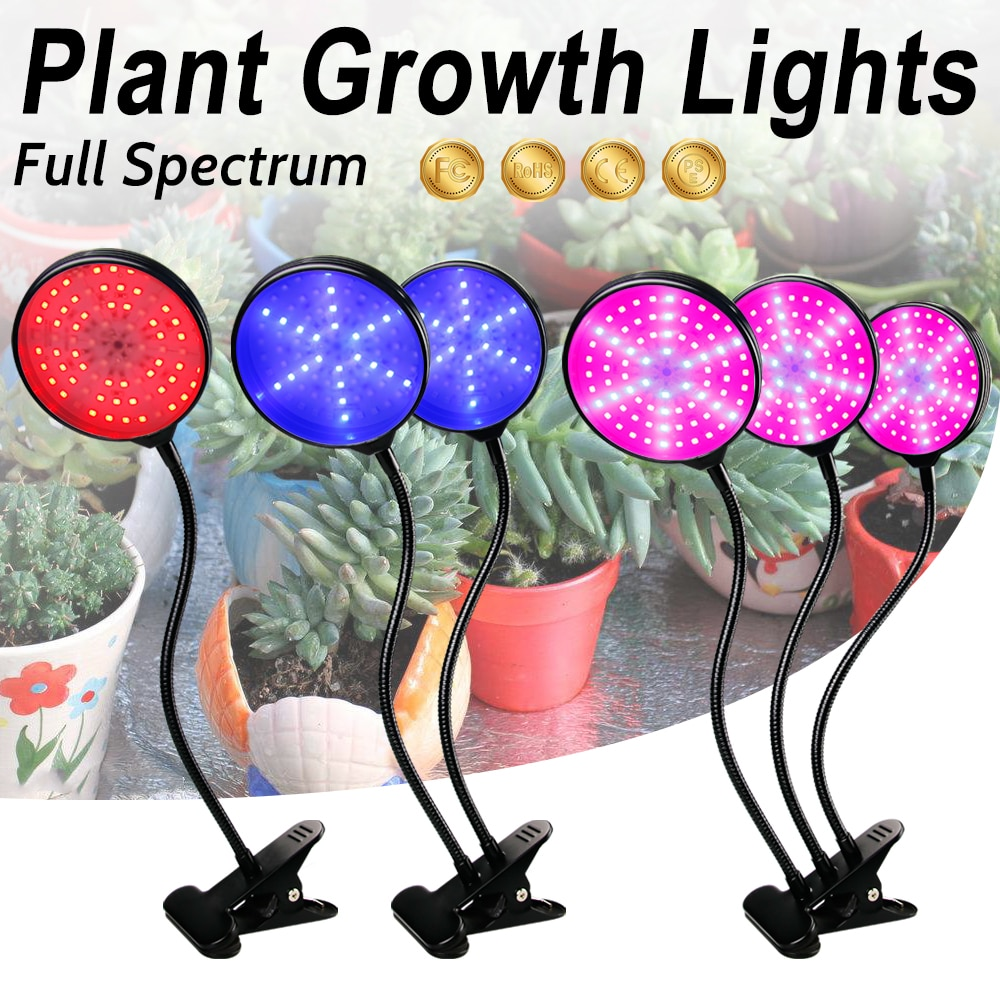 5V USB Plant Growth Light LED 15W 30W 45W Full Spectrum LED Bulb Timing Lamp For LED Grow Light For Indoor Plant Seedlings 2835 greenhouse led grow light e27 15w 21w 27w 36w 45w 54w led grow lamp for plants flower plant orchids seedlings hydroponics system