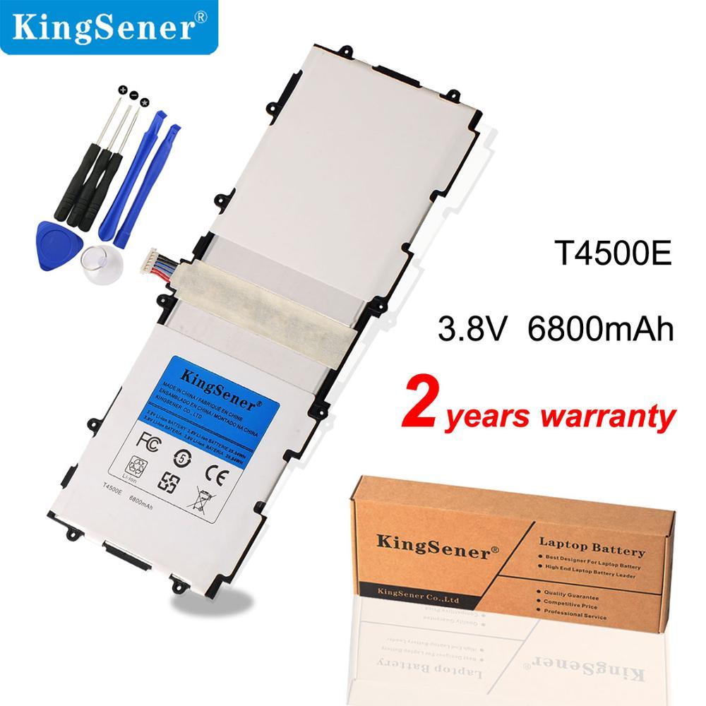 Сменный аккумулятор KingSener T4500E T4500C для Samsung Galaxy Tab 3 10,1 P5200 P5210 P5220 P5213 6800 SP3081A9H, мАч