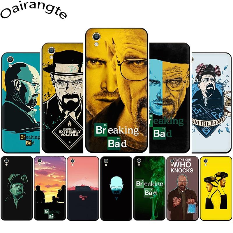 Amc Walter White Jesse Breaking Bad Silicone phone case for OPPO A1K A5 A9 Reno Z 2 10X Realme 2 A5 3 5 Pro Q X lite