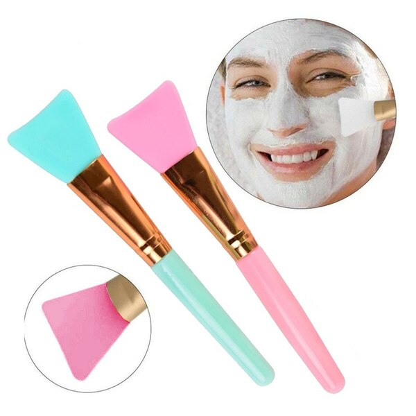 Silicone Facial Mud Mask Make Up Brush Soft Head DIY Mask Mixing Brush Tool Skin Face Care Daily Beauty Cosmetic