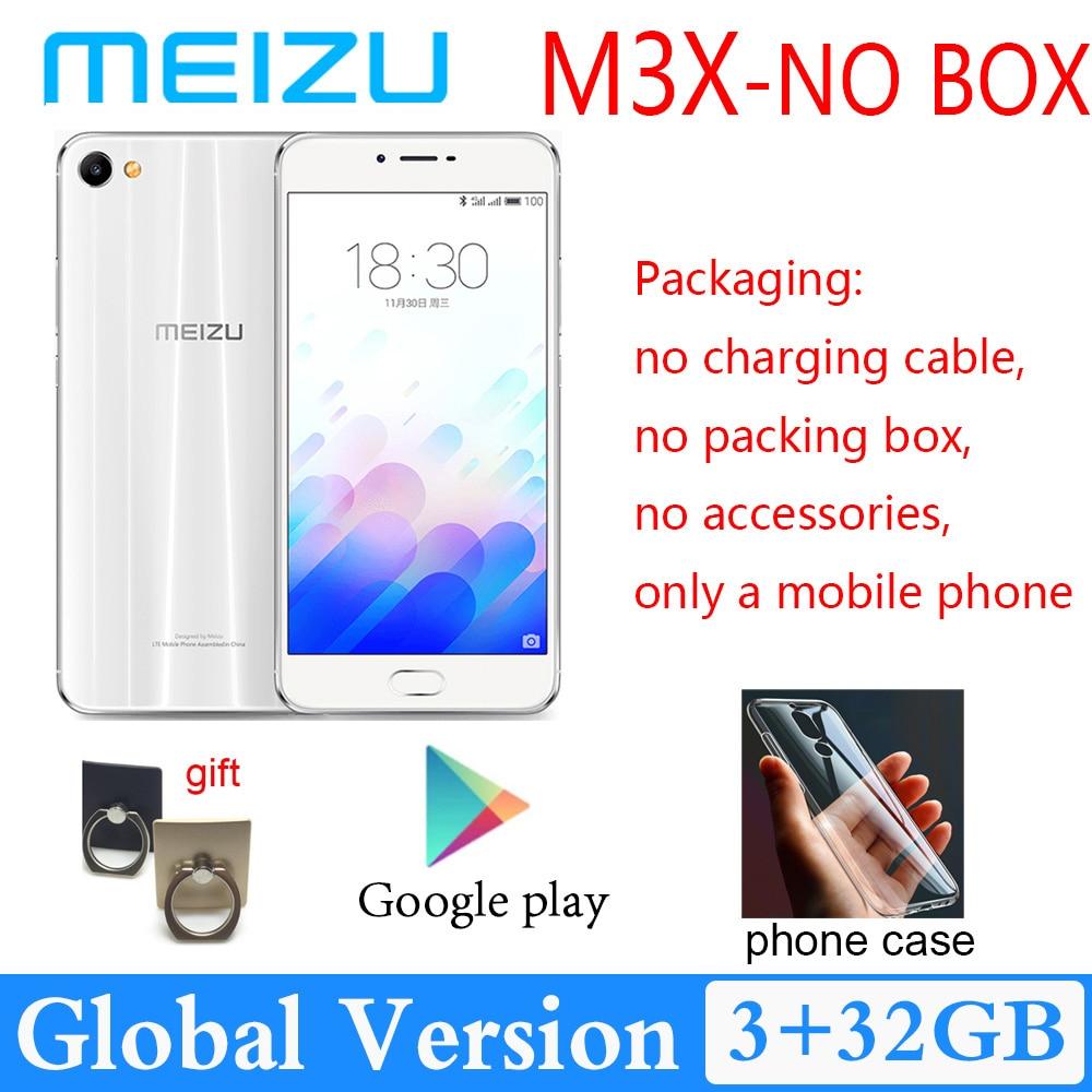 Meizu-teléfono inteligente M3X, 3GB RAM, 32GB rom, cámara dual, Batería grande de...