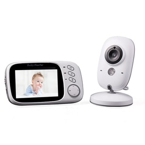 Smart VB603 Wireless Video Baby Monitor with 3.2Inches LCD 2 Way Audio Talk Night Vision Surveillance Security Camera Babycare
