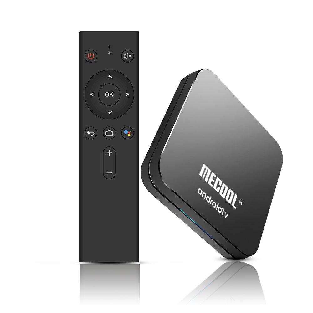 Mecool km9 pro android 10.0 4 k caixa de tv atv s905x2 2/4 gb 16/32 gb 5g wifi bluetooth google habilitado 4 k youtube vídeo principal