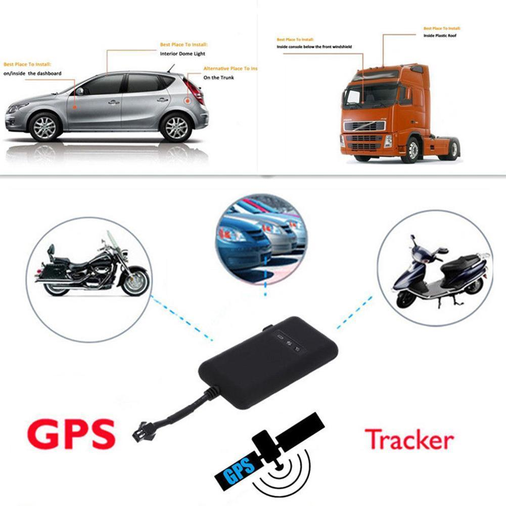 Car Tracker GPS Vehicle Tracker Real Time Locator GSM Motorcycle Car Bike Anti-theft Tool GSM/GPRS 850/900/1800/1900Mhz enlarge