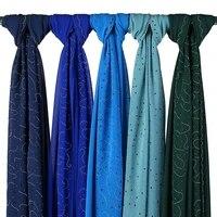 new designed diamond scarf pearl chiffon scarves woman luxury fashion shawl bandana elegant muslim hijab ladies shawlswraps