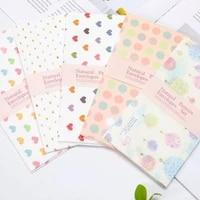 10pcs per lot romantic cartoon pattern envelope stationery student office supplies birthday mini love mixed design1890cm