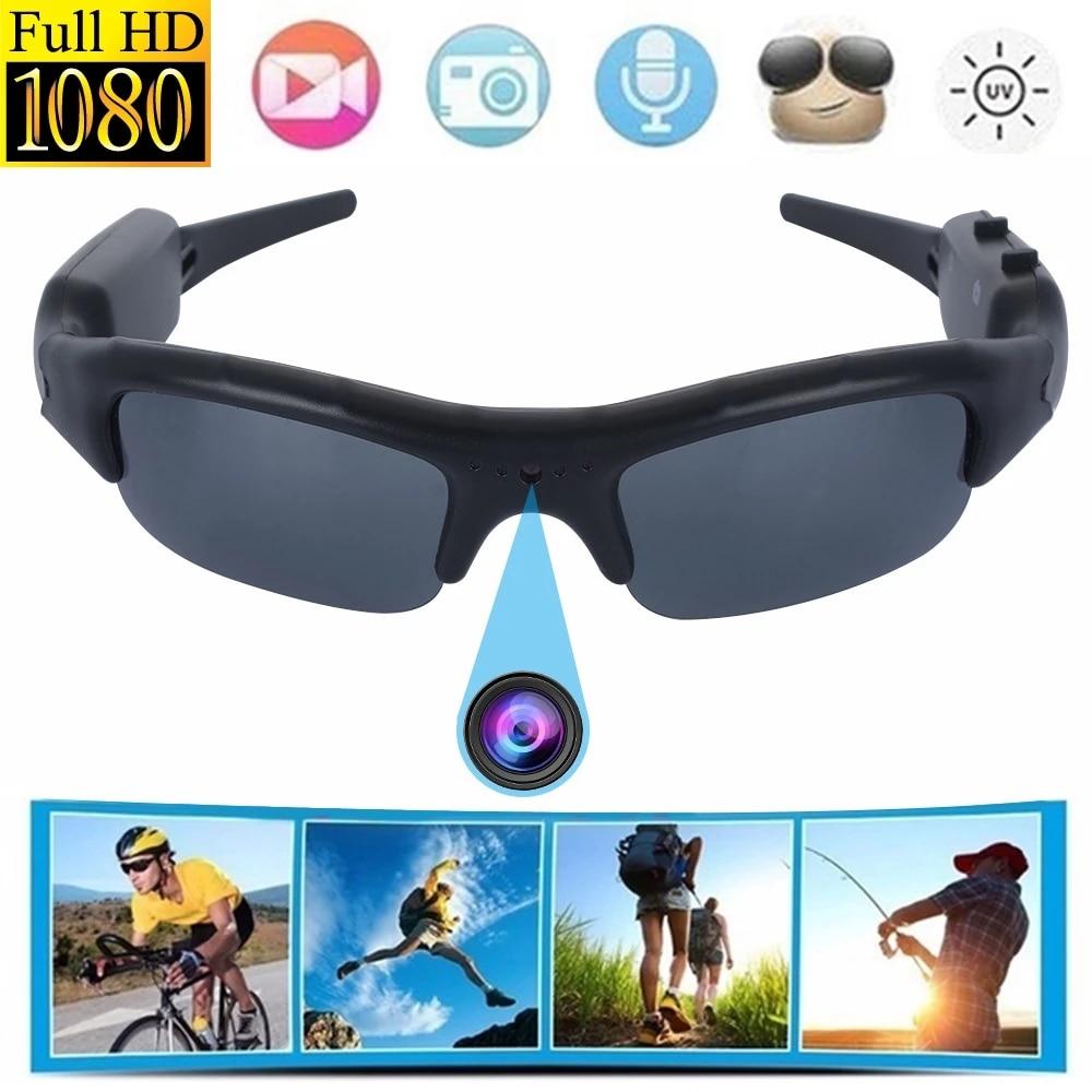 Sports Mini Glasses Camera DVR Sunglasses Digital Video Recorder Camcorder Video Sunglasses Eye Prot