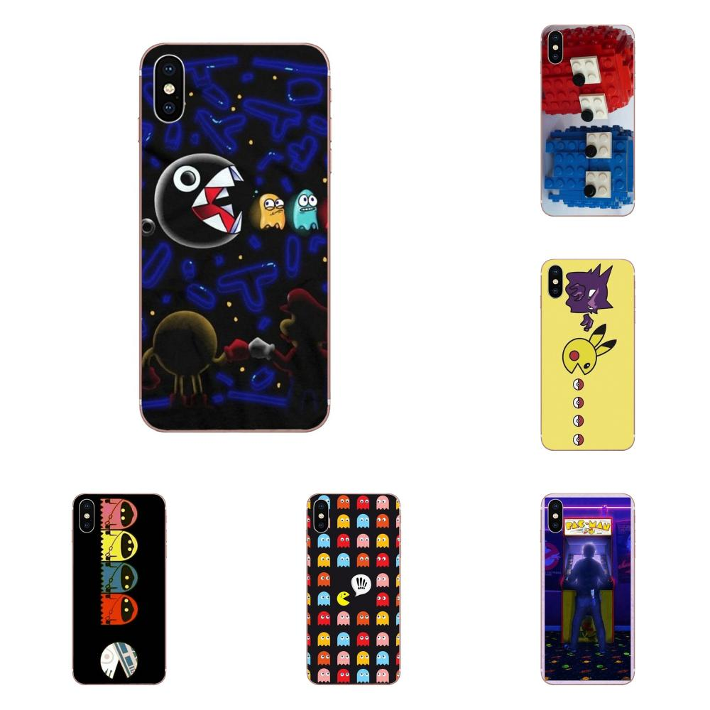 Für Huawei Honor Mate 7 7A 8 9 10 20 V8 V9 V10 G Lite Spielen Mini Pro P Smart weiche Gummi Telefon Fall Pacman Gamer Nerd Lustige