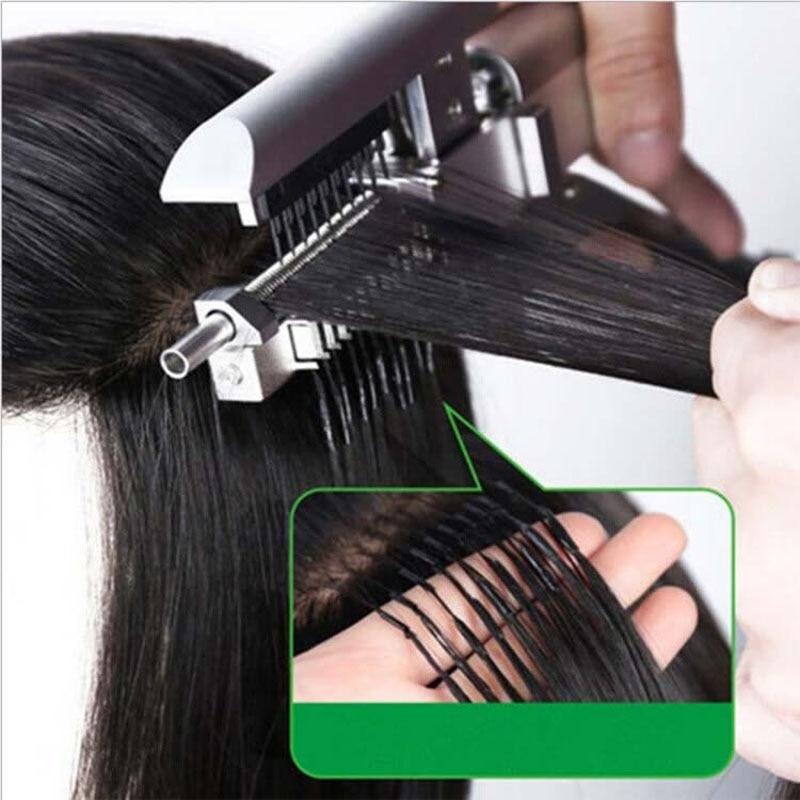 salao de beleza pro 6d cabelo extensao maquina conectores nenhum traco estilo ferramentas