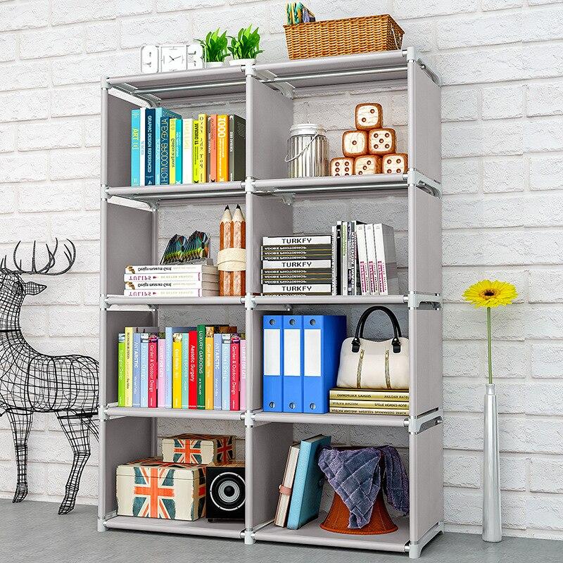 صفوف مزدوجة 5 طبقات الاطفال رف الكتب محبوكة الزخرفية عرض موقف لعب الكتب المنظم الجرف الأطفال خزانة الكتب الصغيرة MJ1105