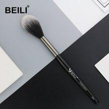 BEILI 1 pièce cheveux synthétiques mettre en évidence fard à joues maquillage brosse longue poignée unique maquillage brosse 846 #