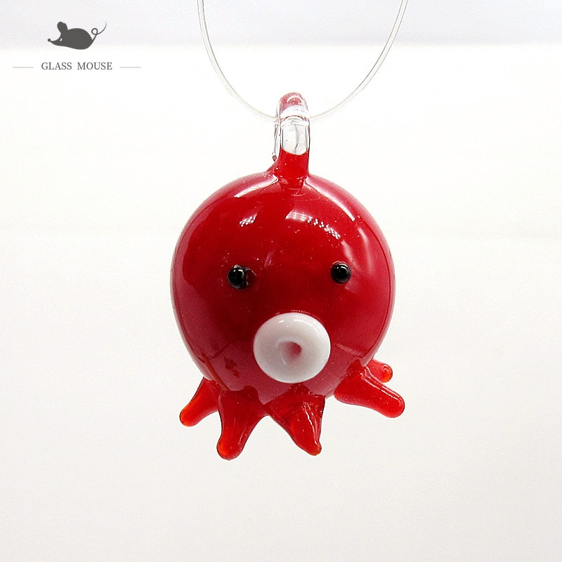 Custom Jade Color Handmade Murano Glass Goldfish Ornament Pendant Home Aquarium Fish Tank Christmas Decor Mini Animal Figurine  - buy with discount