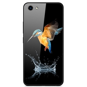 For VIVO Y81 Phone Case Tempered Glass Case Phone Cover Fitness Back Bumper Series 1