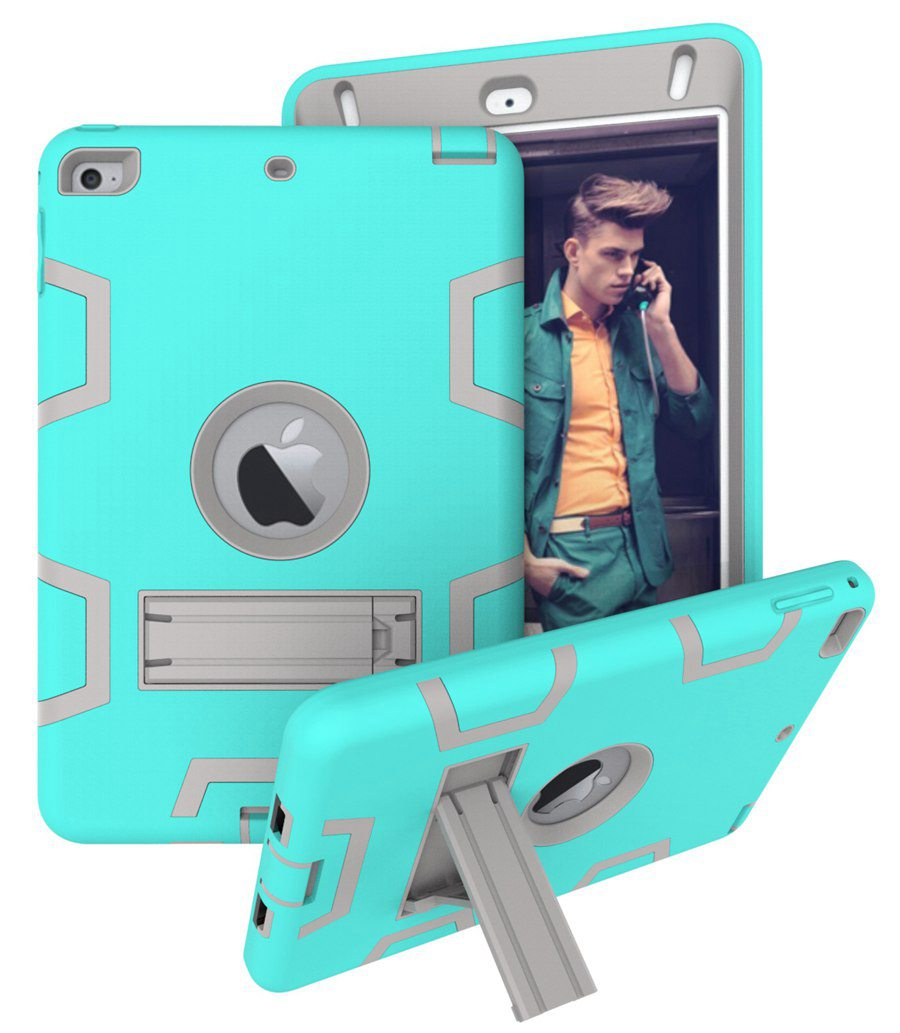 Baby Safe Heavy Duty Silicone Armor Case for New iPad mini 5 ipad mini 5th Gen 2019 Cover for ipad mini 4 tablet case+film+pen