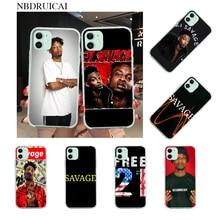 NBDRUICAI 21 Savage Neu Angekommen Handy Fall für iPhone 11 pro XS MAX 8 7 6 6S Plus X 5S SE XR abdeckung