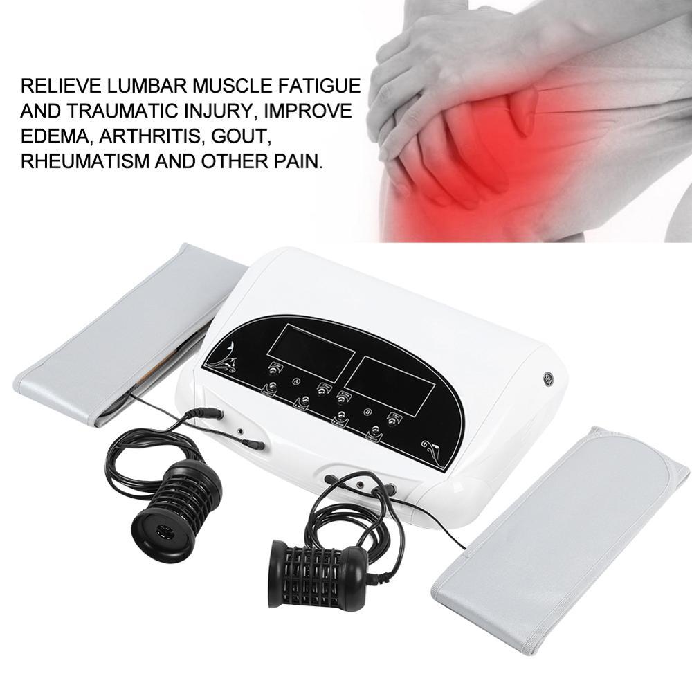 الجسم آلة التخلص من السموم سلبية أيون footباث سبا هزاز كهربائي مدلك قدم الرعاية الصحية العلاج آلة ضغط الهواء للرجل 2