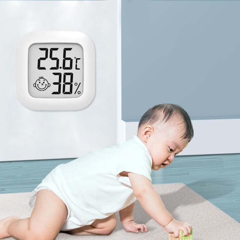 Комнатный мини-термометр, цифровой сенсор, гигрометр, термометр, комнатный гигрометр