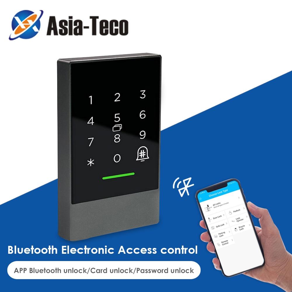 app Bluetooth TTlock App Control Door Access Control System Card Reader Smart Phone App 13.56MHZ Card Door Access Control Keypad