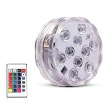 Светодиодный подводный светильник с дистанционным управлением на аккумуляторах, погружной светильник RGB для аквариума, пруда, ваза фонтан, ...