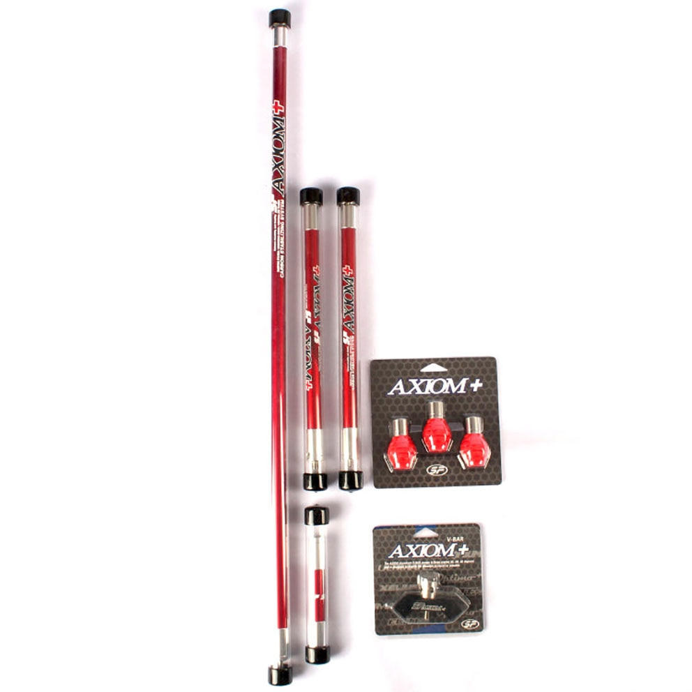 1set Archery Carbon Balance Bar Set Balance 30 inch +12 inch +4 inch with V Bar and Damper For Recurve Bow Shooting Accessory enlarge