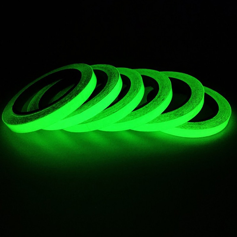 3M Luminous Tape Self-adhesive Glow Emergency Logo In The Dark Afety Stage Sticker Home Decor Party