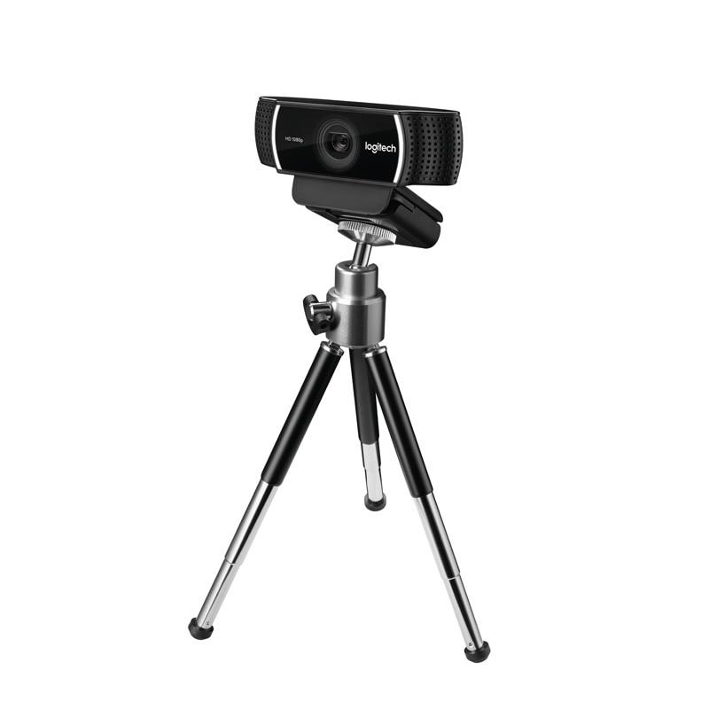 Promotion!!! C922 Pro Webcam Built-in Microphone With Tripod 1080p HD Camera C922  Logitech 1080P Web 30FP