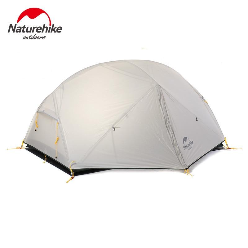 Naturehike Mongar 2-خيمة تخييم لشخصين ، خفيفة للغاية ، خارجية ، لشخصين ، تحتاج إلى شراء بشكل منفصل