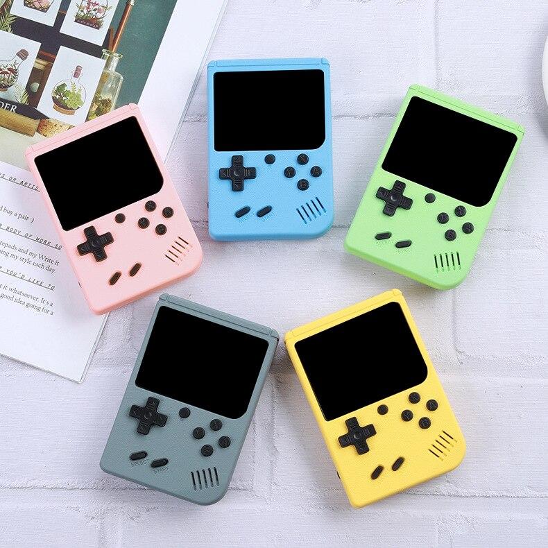 Consola de videojuegos Retro portátil para niños, miniconsola de bolsillo, accesorios de...