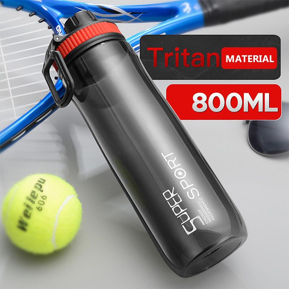 Tanke kelass Outdoor sport bottle with large capacity plastic drop water cup men's portable bottle s
