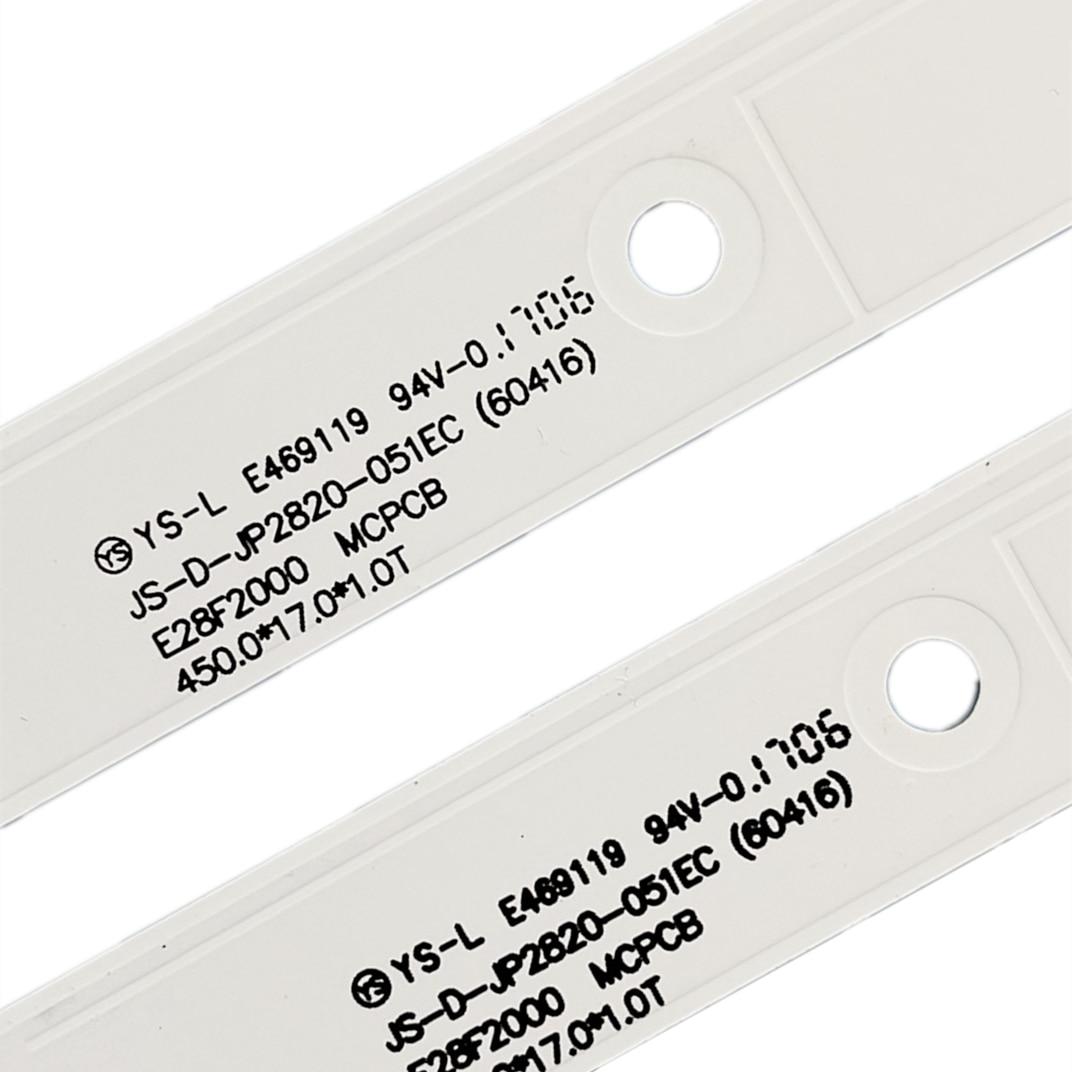 20pcs 450mm LED Backlight strip 5 lamp for AKAI 28'' TV JS-D-JP2820-051EC(60416) E28F2000 D28-F2000 enlarge