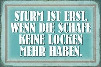 storm is only theme metal tin sign 8x12 inch home kitchen travel decor retro tin sign