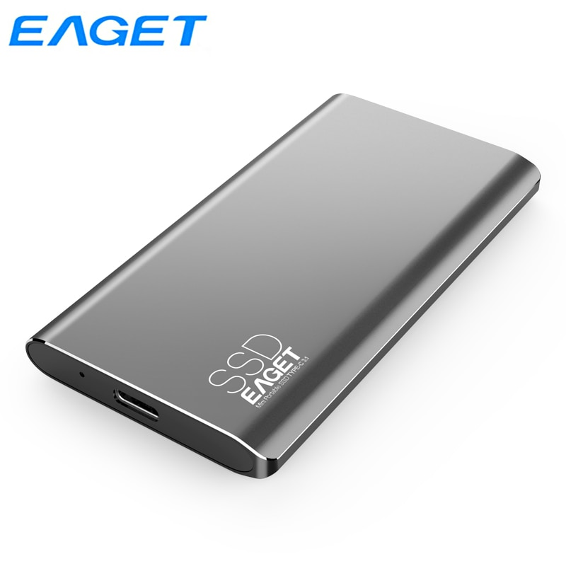 Eaget نوع C الخارجية SSD 1 تيرا بايت 512GB 256GB 128GB USB 3.0 المحمولة SSD القرص الصلب محرك الحالة الخارجية الصلبة للهاتف المحمول M1