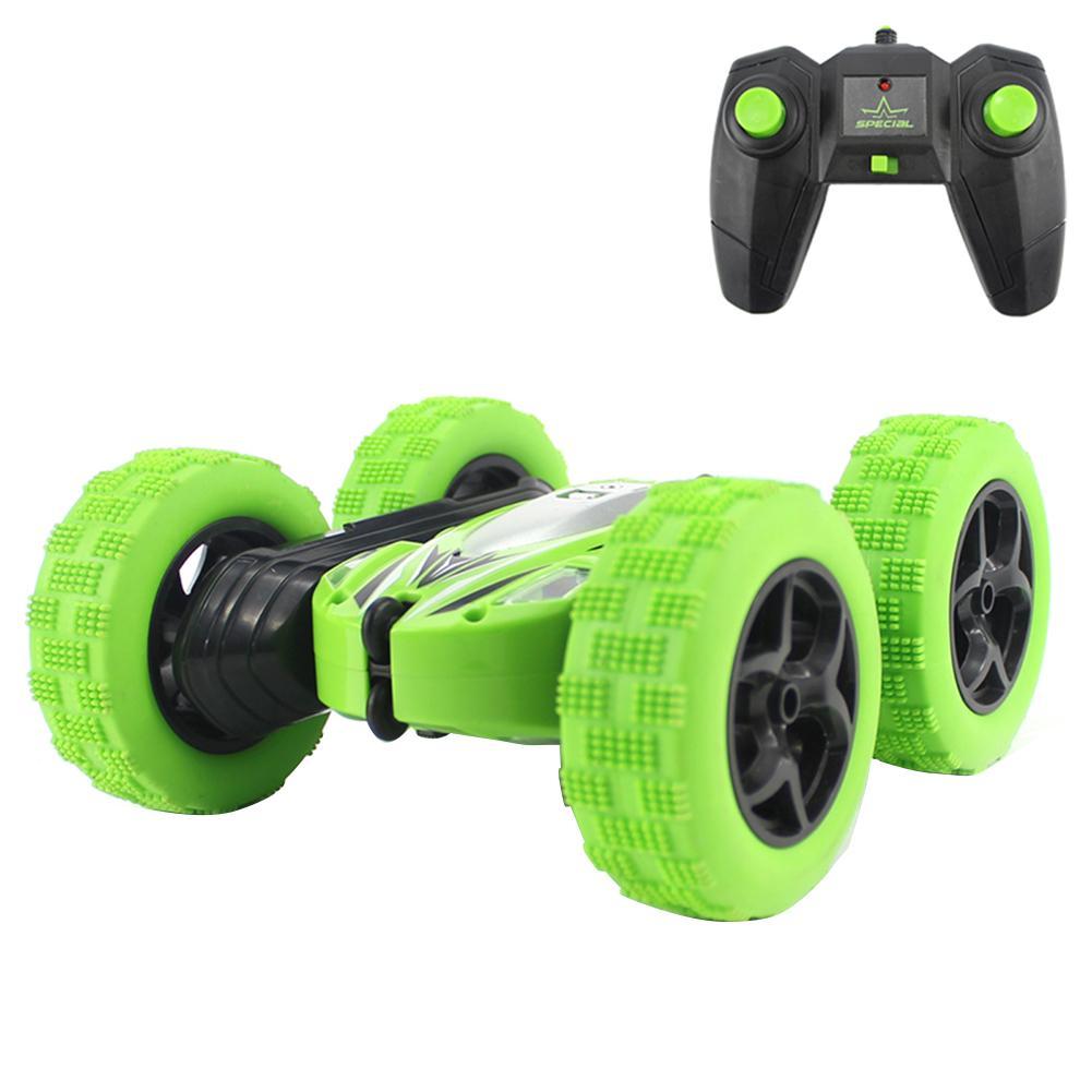 RC coche de juguete 2,4G 4CH truco deriva deformación Buggy coche Rock Crawler rollo de coche 360 grados Flip niños Robot RC los coches juguetes para regalos
